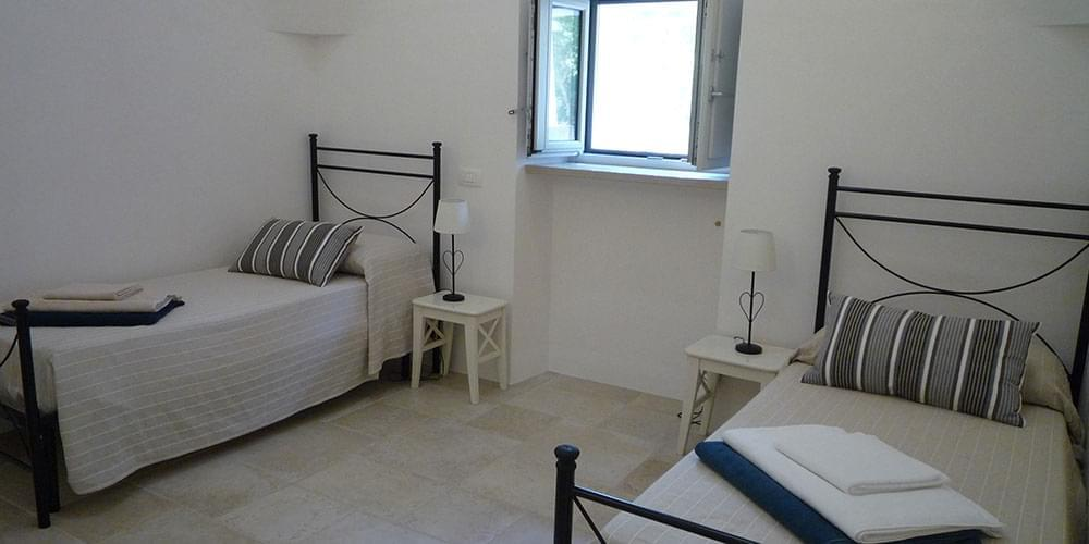 Trullo Siamese Ostuni holiday villa rental